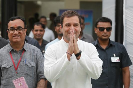 File photo of Congress chief Rahul Gandhi.
