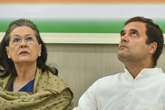 File photos of UPA chairperson Sonia Gandhi and Congress chief Rahul Gandhi. (PTI)