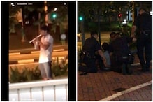 Two Men Fight with Potted Plant and Recorder in Singapore Streets, Videos Goes Viral