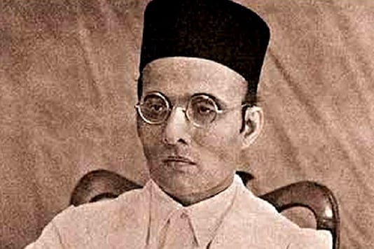 An NGO distributed the notebooks with Veer Savarkar's photo among the students in November last year.