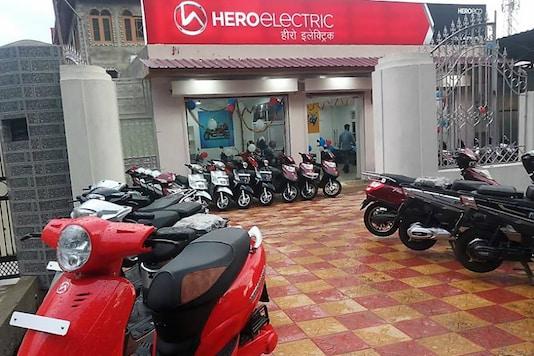 Hera Electric store. (Image source: Hero)