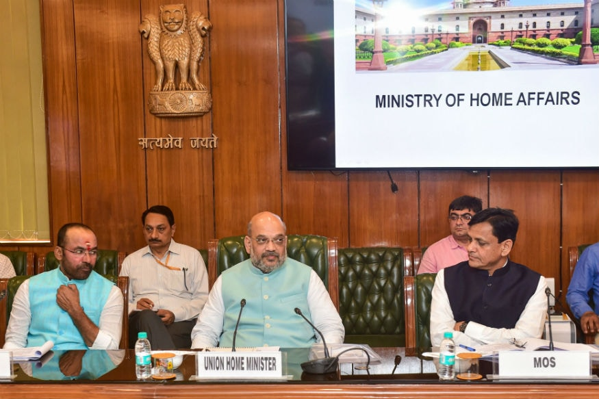 Image result for amit shah meeting