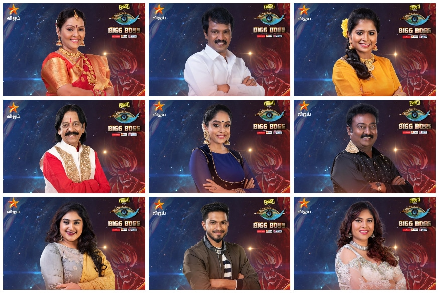 Bigg Boss Tamil 3: Meet the Celebrity Contestants of Kamal