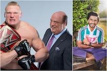 Ranveer Singh Gets Notice from WWE Wrestler Brock Lesnar's Advocate Paul Heyman