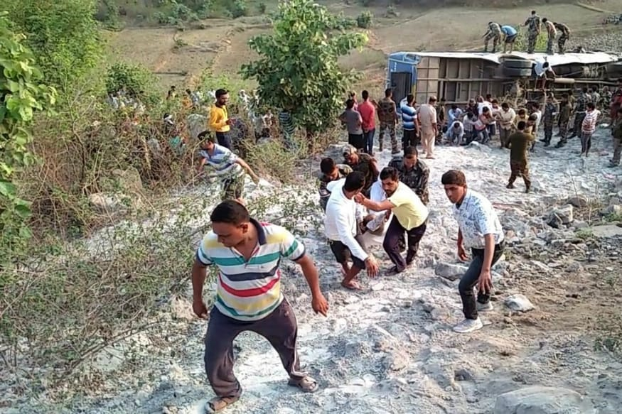 Six Killed, 39 Injured as Bus Skids Off Road, Falls Into Gorge in Jharkhand
