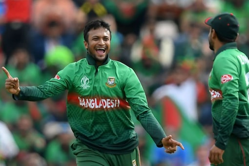 India vs Bangladesh: Shakib First Player to Score 500 Runs & Pick 10 Plus Wickets in WC History