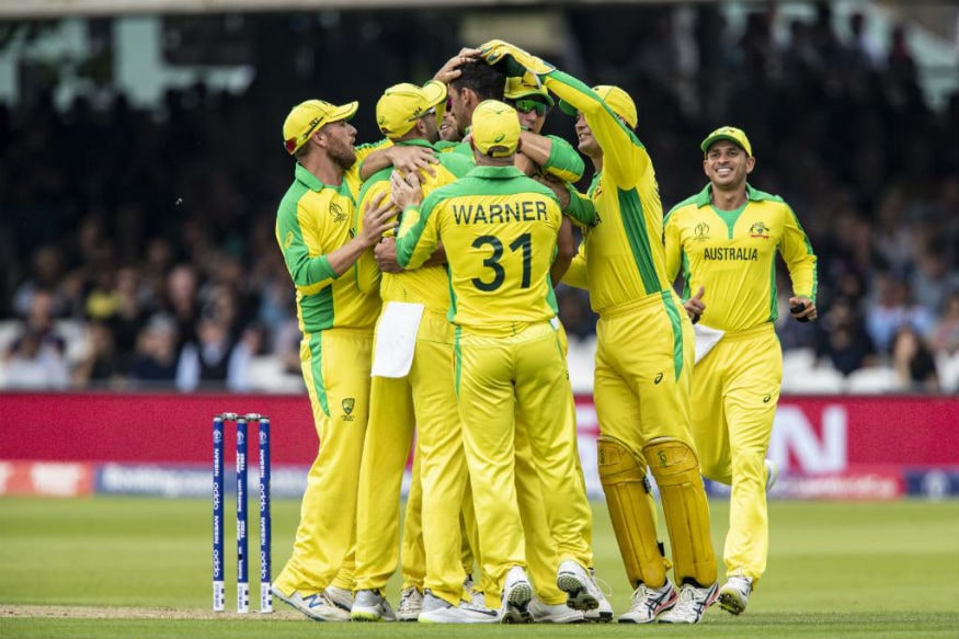 In Pics, Australia Beat England to Seal Semi-Final Spot