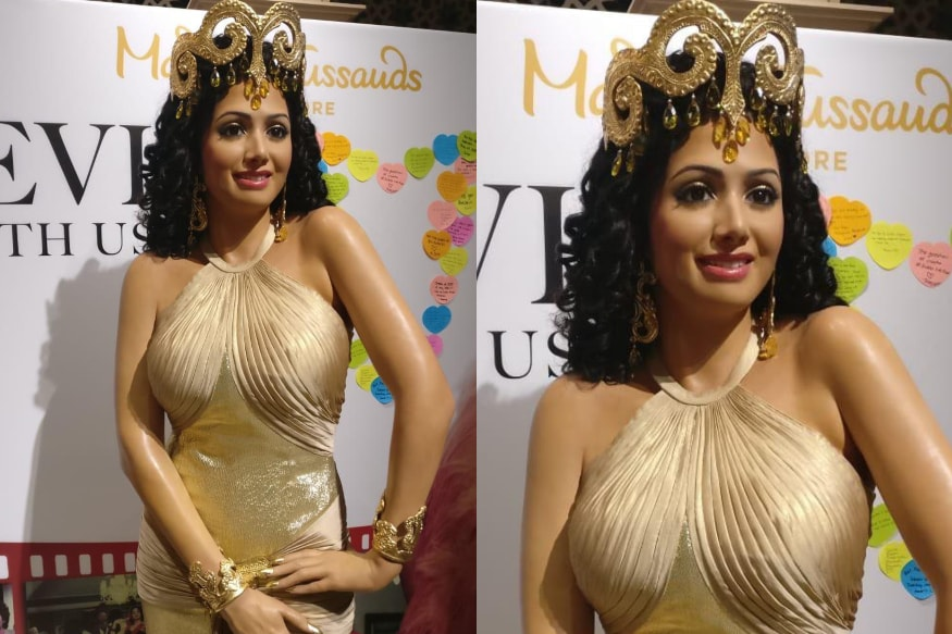 Celeb Wax Figures: Sridevi's Statue Unveiled at Madame