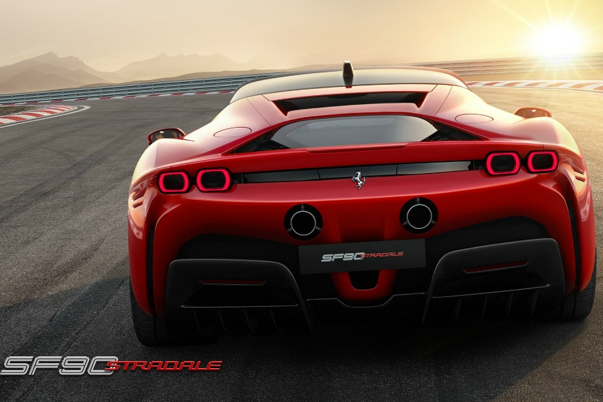 The Ferrari SF90 Stradale. (Image source: Ferrari)