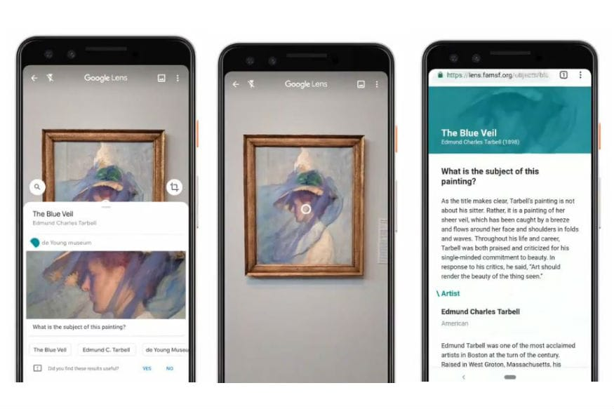 Google Lens Will Now Show the Story Behind Ancient Museum Paintings
