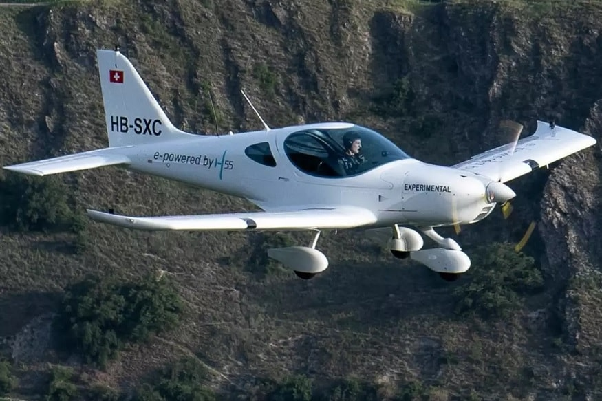 Fully Electric H55 Airplane Successfully Completes Test Flight in Switzerland