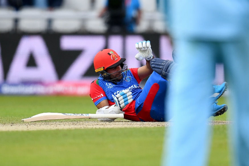 England vs Afghanistan | Continued to Bat After Head-Blow as My Mom Would be Worried: Hashmatullah