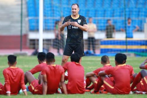 Igor Stimac is the Indian men's football team's coach. (Photo Credit: Twitter/AIFF)