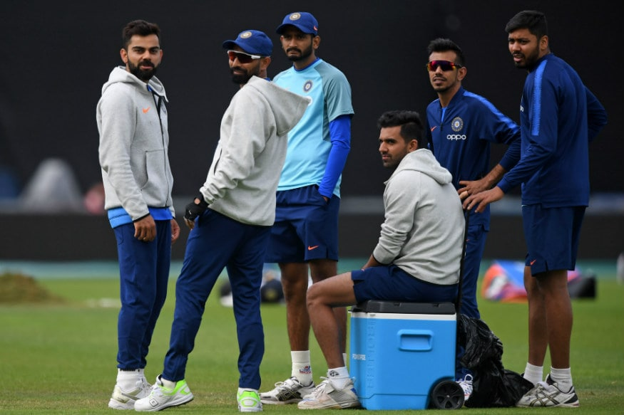 In Pics, India Practice Session at Southampton