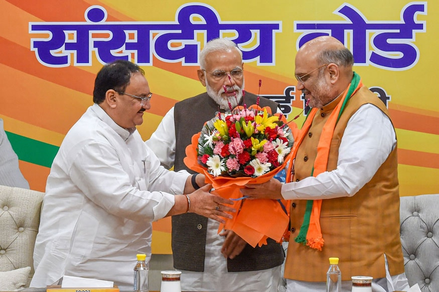 PICS: Former Health Minister JP Nadda Appointed as BJP