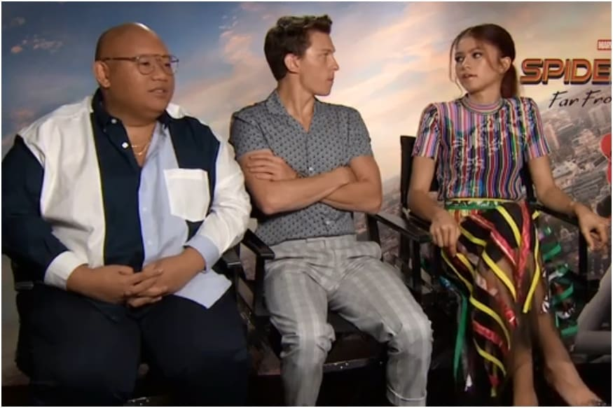 Cafeteria Sleepover to Camping Trips, Spider-Man Far From Home Cast Describe Their Vacation Trips