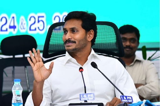 File photo of Andhra Pradesh Chief Minister Y S Jagan Mohan Reddy.