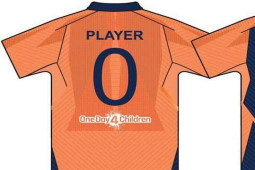 India jersey. (Pic: ANI)
