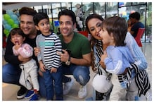 Krushna Abhishek, Kashmera Shah Celebrate Twins Birthday as Tusshar Kapoor, Archana Puran Singh Join the Party