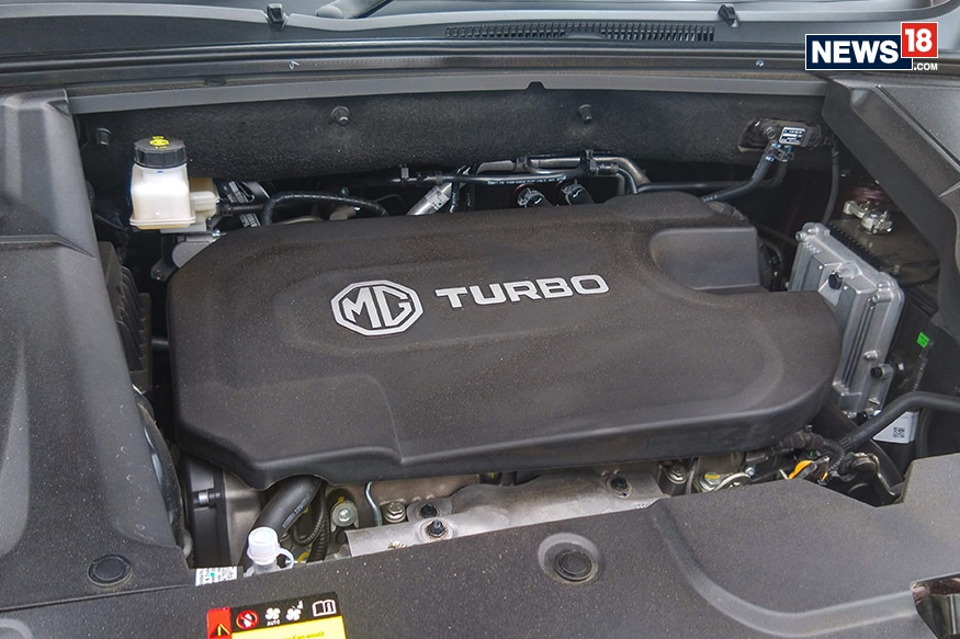 MG Hector 2.0-litre diesel engine. (Photo: Arjit Garg/News18.com)