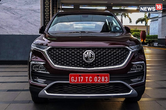 MG Hector SUV.  (Photo: Arjit Garg/News18.com)