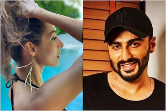Image of Malaika Arora and Arjun Kapoor, courtesy of Instagram