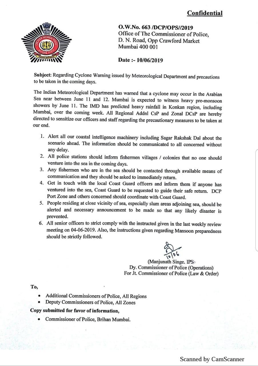 Mumbai-Advisory