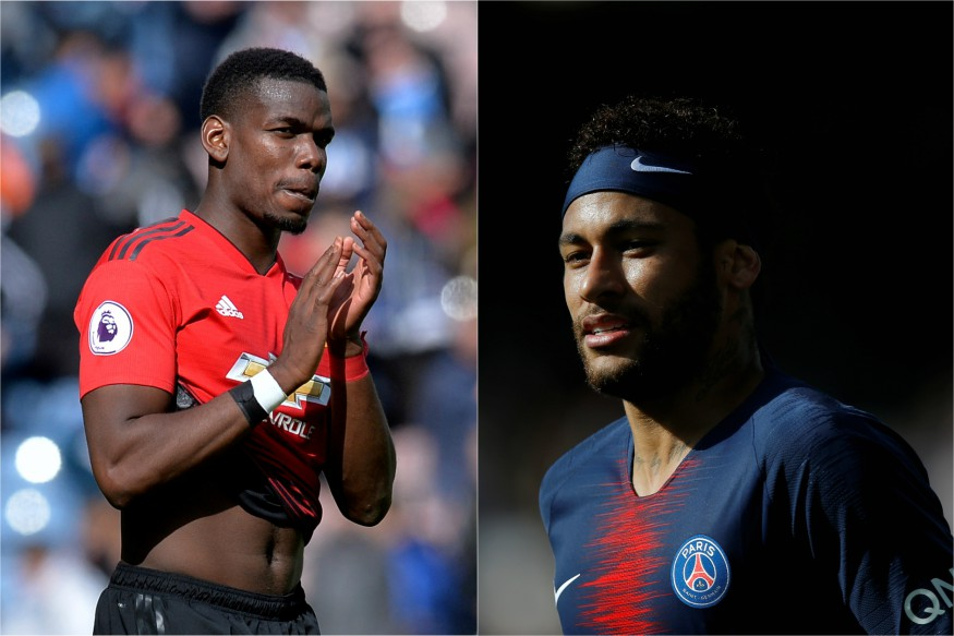 Image result for Neymar's PSG Future Clouded, Paul Pogba Hands Manchester United Transfer Headache