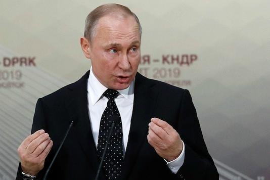 File photo of Russian President Vladimir Putin.