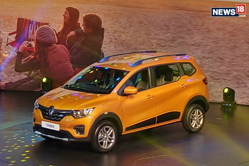 Renault Triber Unveiled In India Gets 7 Seats And A Modular Cabin