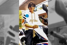Shah Rukh Khan Rides BMW Motorcycle, Gives Safety Message to Fans - Watch Video