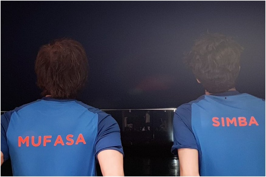 On Father's Day, Shah Rukh Khan Turns Mufasa to Aryan's Simba Ahead of India Vs Pakistan Match