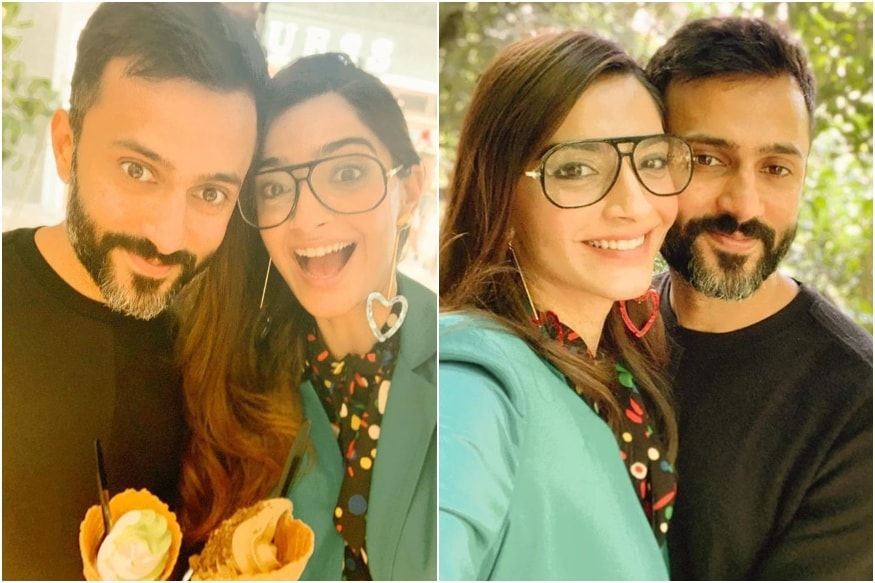 Sonam Kapoor and Anand Ahuja Soak in Japanese Culture, Binge on Ice Cream During Their Vacation
