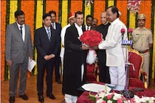 Justice RS Chauhan Sworn in as Telangana HC Chief Justice; KCR, Assembly Speaker PS Reddy Present