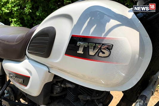 TVS badging. Image for Representation.  (Photo: News18.com)