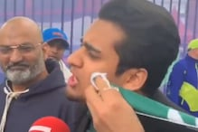 Pakistan Fan's Tears Being Wiped With Country's Flag After Amazing Rant Will Hit You in the Feels