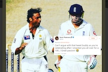 Shoaib Akhtar Had the Last Laugh After Pietersen Tried to Troll Him Over Motivational Post for Pakistan