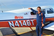 Flying High: Chinese Man Completes His Second Around-the-world Trip in 68 Days