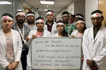 Why Doctors at AIIMS Delhi Wore Bandages and Helmets While Treating Patients