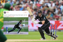 Martin Guptill's Bizarre Dismissal Against South Africa is a Big Hit on Twitter