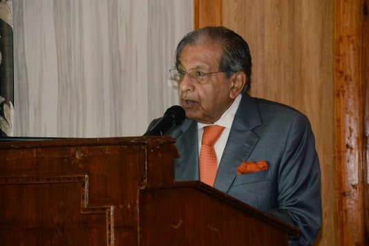 File photo of NK Singh, Chairperson, 15th Finance Commission.  (Credit: Twitter@NKSingh_MP)