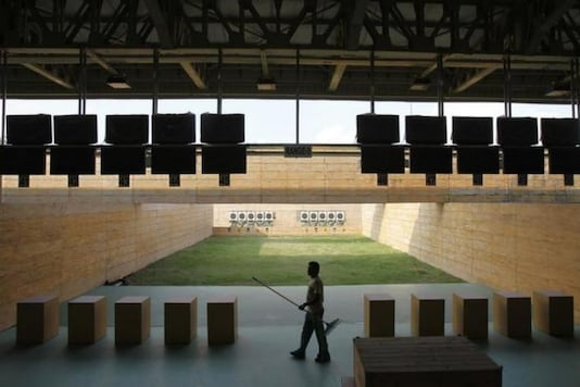 File photo of Karni Singh Shooting Range in Delhi. (Photo Credit: Reuters)