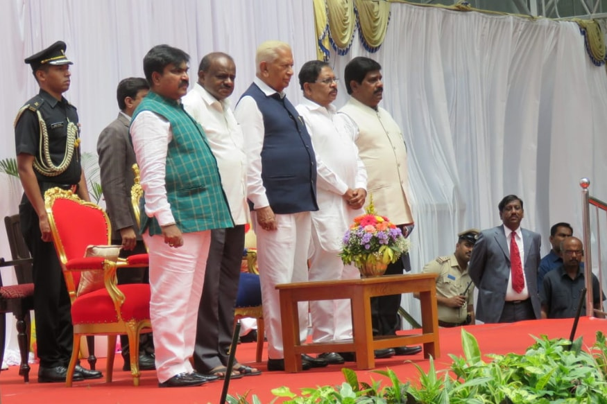 Naysayers Continue to Sulk after Kumaraswamys Ktaka Cabinet Expansion Excludes Cong-JD(S)