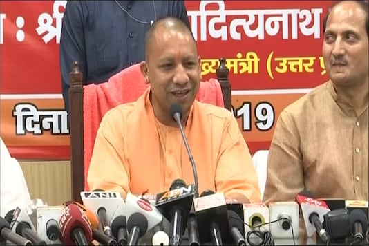 File photo of UP Chief Minister Yogi Adityanath.
