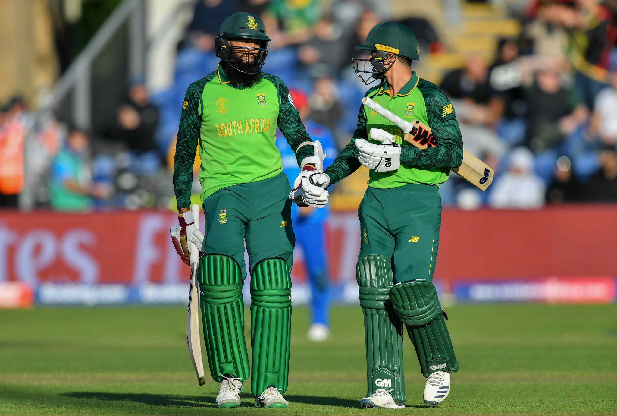 In Pics, South Africa Thump Afghanistan