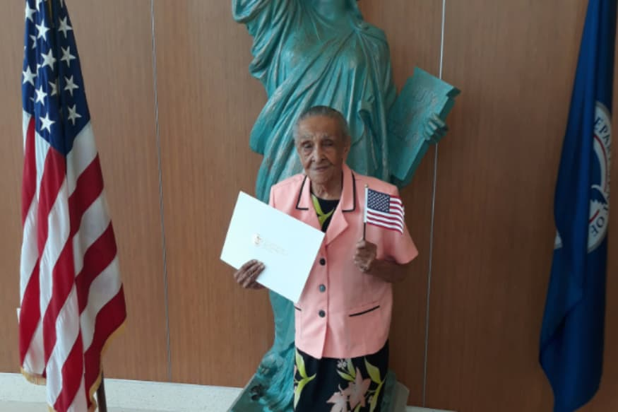 Age No Bar: Florida Woman Attains US Citizenship Months Before Her 104th Birthday