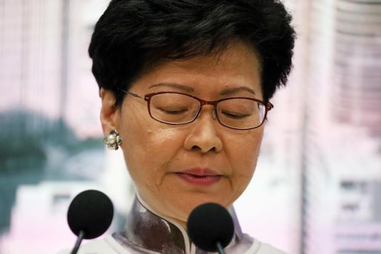 Hong Kong Chief Executive Carrie Lam. (Image: Reuters)