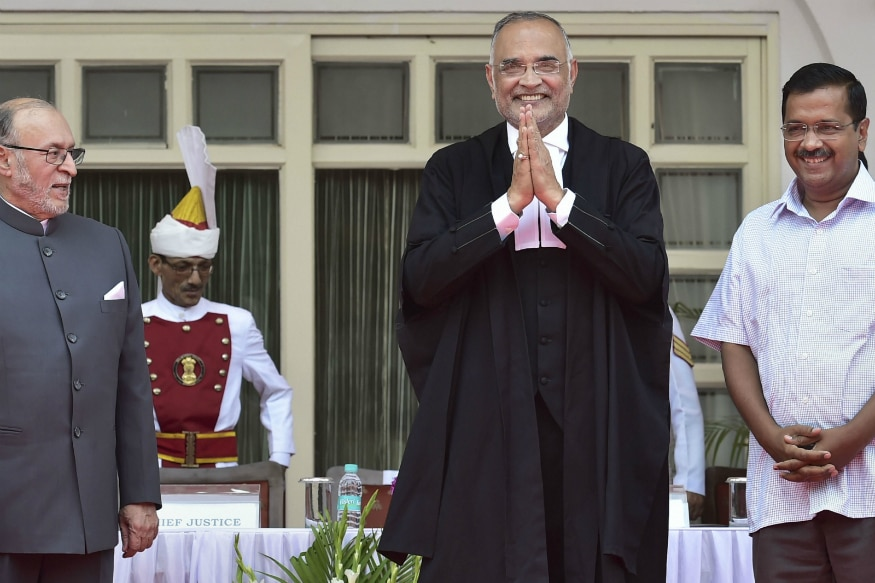 Justice Dhirubhai Naranbhai Patel Takes Oath as Chief Justice of