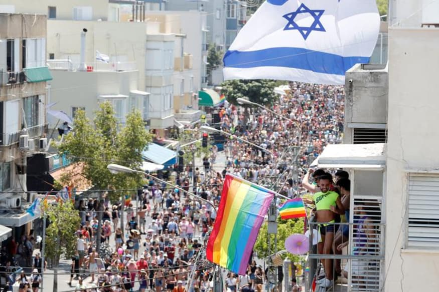 Tens of Thousands Israeli Revellers Join Middle-East's Biggest Gay Pride Fest