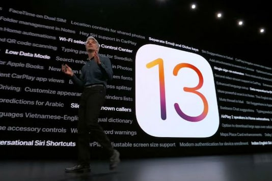 Apple announces iOS 13 during an event in Cupertino, California. (Image: News18.com)